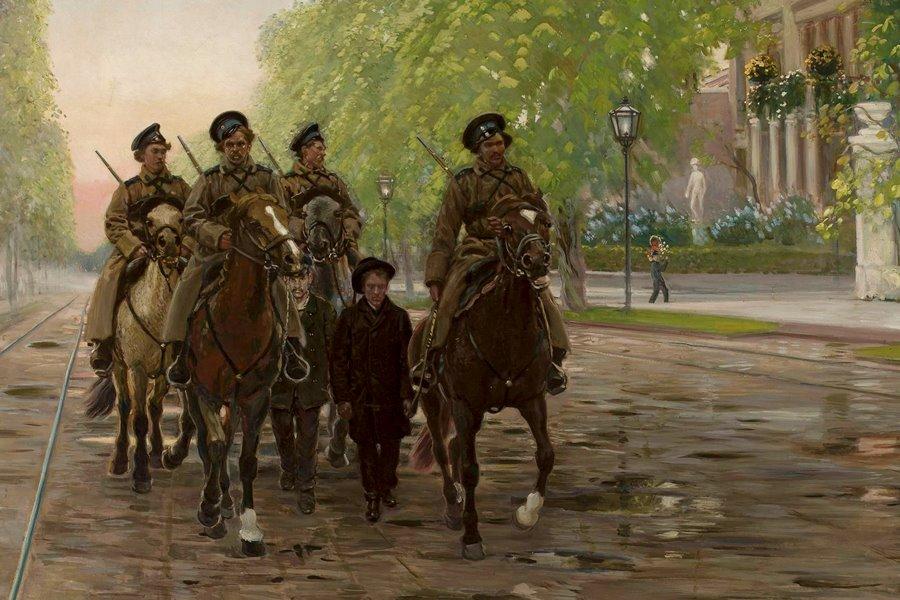 """""""Wiosna 1905 (Świt 1906)"""" pędzla Stanisława Masłowskiego, źródło: wikimedia.org"""